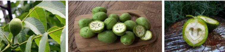 ликьор от зелени орехчета рецепта