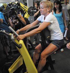 Мария Гроздева обича да си поддържа фигурата със спорт