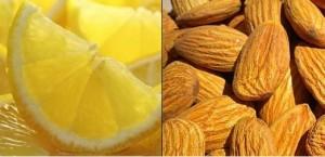 Бадеми и лимони се използват в рецепта при вода в коляното от нашата народна медицина