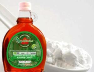 кленов сироп и сода