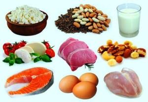 храни богати на протеини