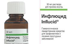 инфлуцид сироп