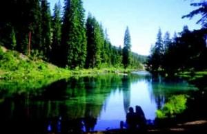 Езерото Кламат, където се намират микроводораслите АФА употребявани от АкваСорс