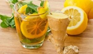 Рецепта за премахване на тлъстините по корема с джинджифил и лимон.