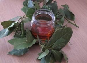 Отвара с дафинов лист