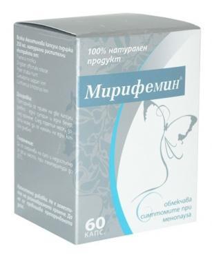Мирифемин на аптека Фрамар - apteka.framar.bg