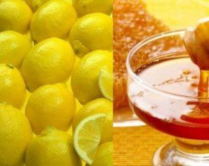 Лимони и мед за кашлица.