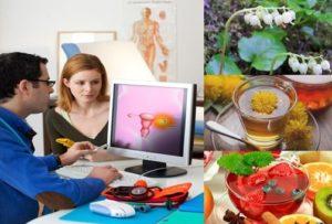 Поликистозни яйчници – лечение, диета, народна медицина и симптоми.