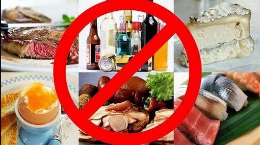 Диети при подагра – забранени и ограничени храни