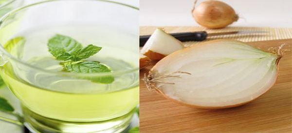 Лек за кашлица – лук с мента