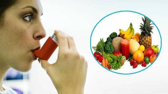 Хранене при астма. Диета, билки