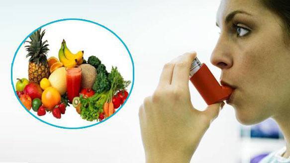 Хранене при астма.
