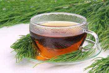 При оток на крака - чай от хвощ