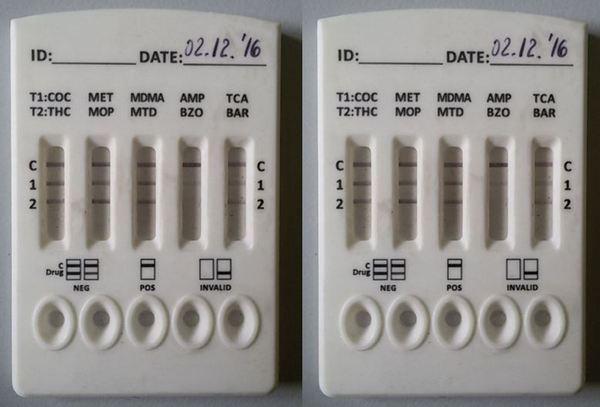 Тест за наркотици с урина